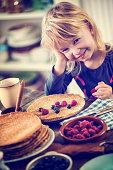 Traditional Dutch Pancakes - Pannenkoeken