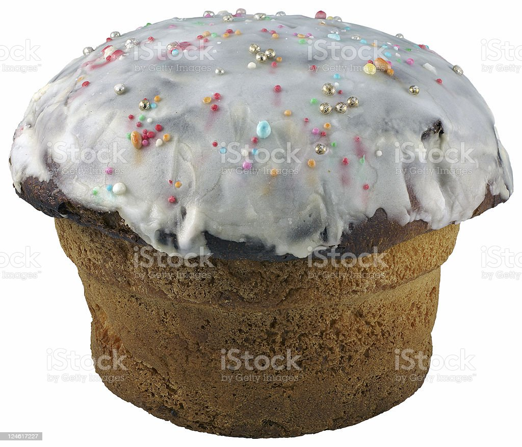 traditional easter cake of south italy stock photo
