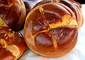 Traditional Easter Folar in Portugal