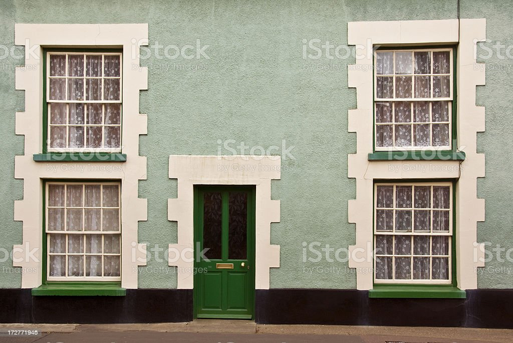 Traditional English house royalty-free stock photo