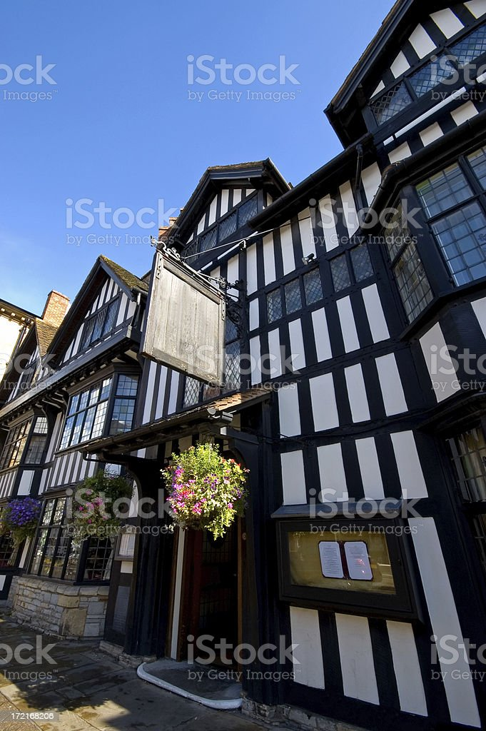 Traditional English Pub royalty-free stock photo