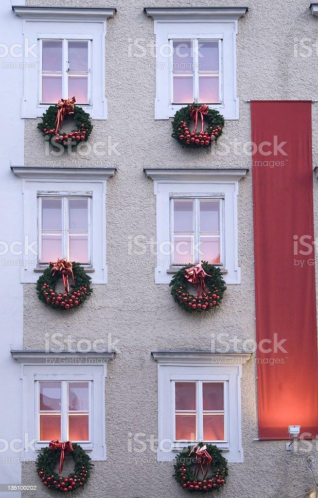 Traditional European Christmas royalty-free stock photo