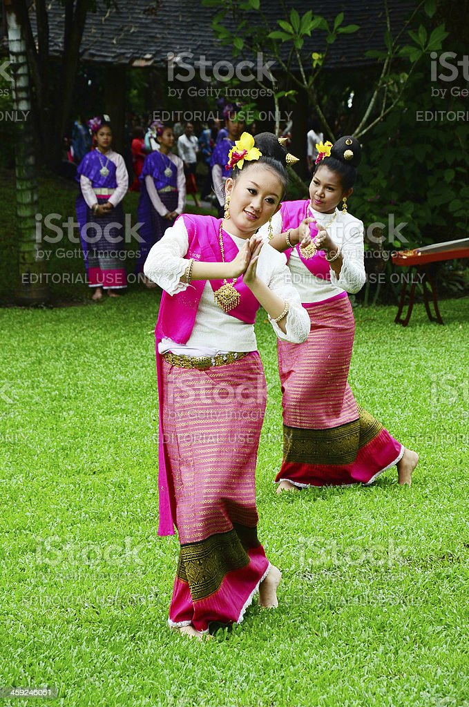 Traditional event Thai Yai royalty-free stock photo