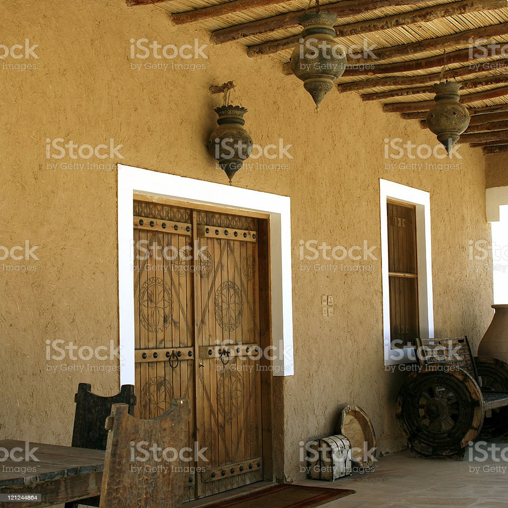 Traditional Exterior stock photo