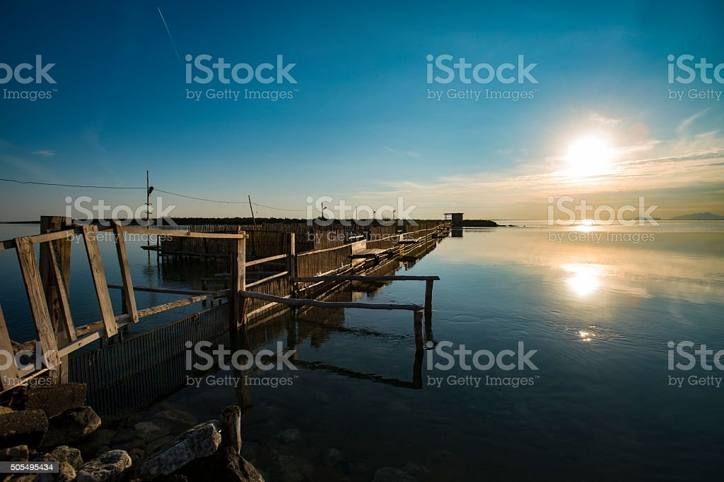 traditional fisheries stock photo