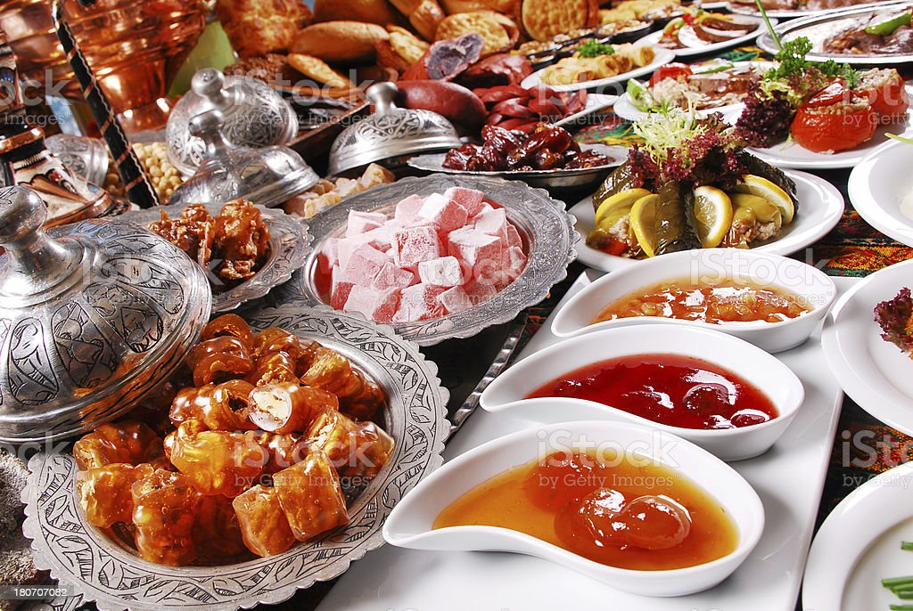 Traditional Foods (Click for more) stock photo