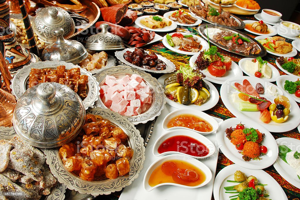 Traditional Foods (Click for more) royalty-free stock photo