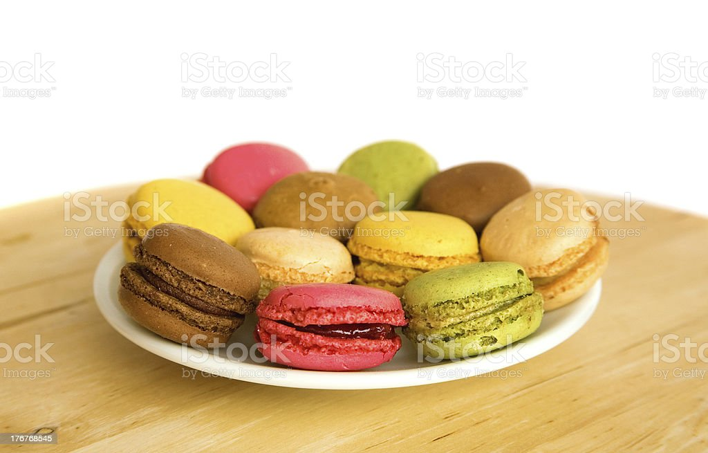 Traditional French dessert royalty-free stock photo
