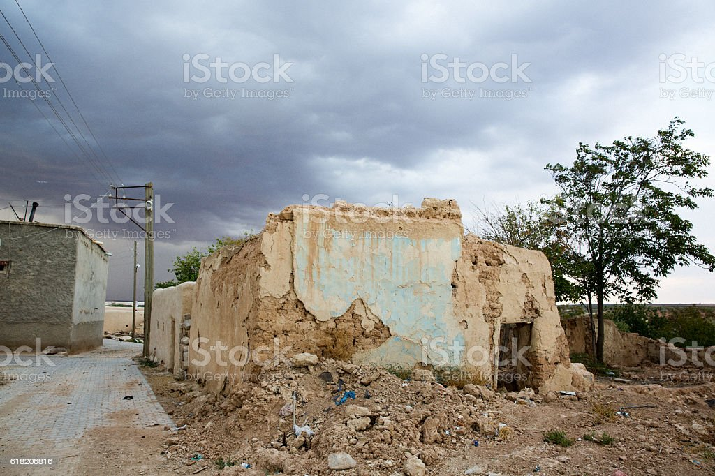 Traditional Gaziantep House Turkey stock photo