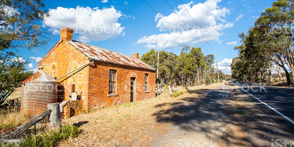 Traditional Goldfields Property stock photo