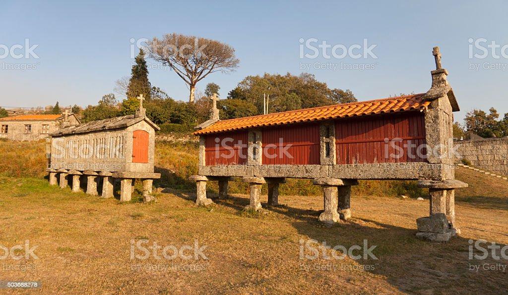 Traditional Granary stock photo