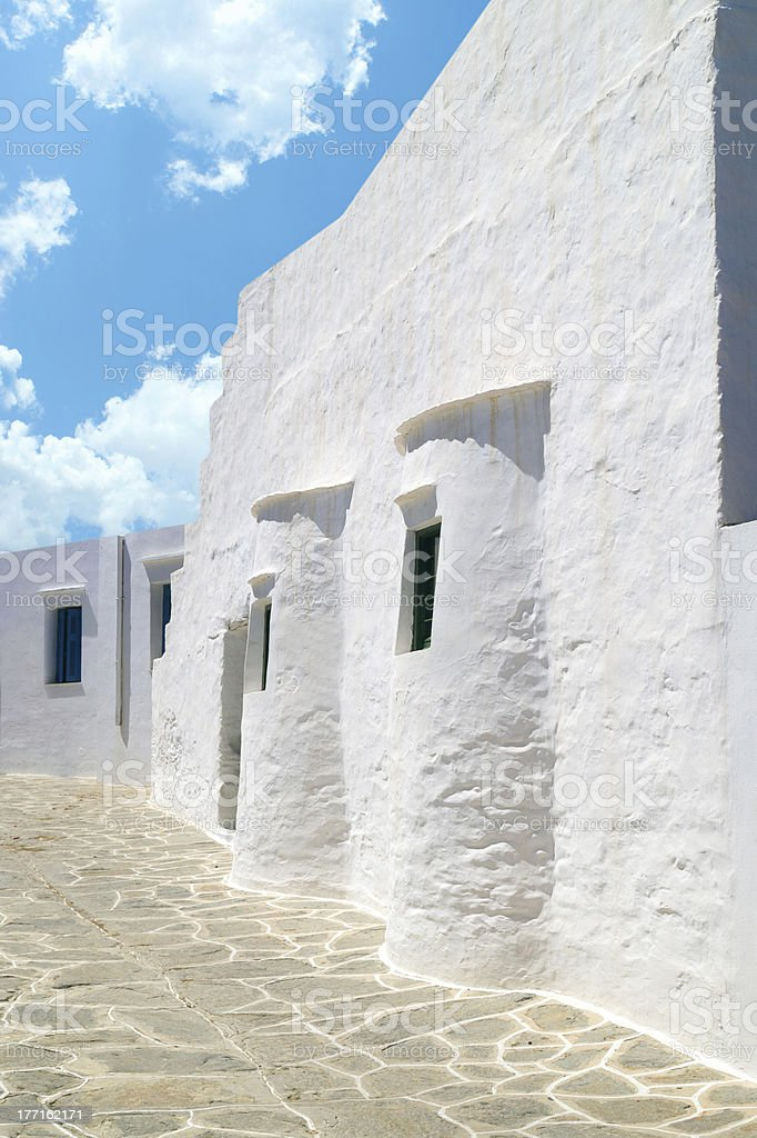 Traditional greek house on Sifnos island, Greece royalty-free stock photo