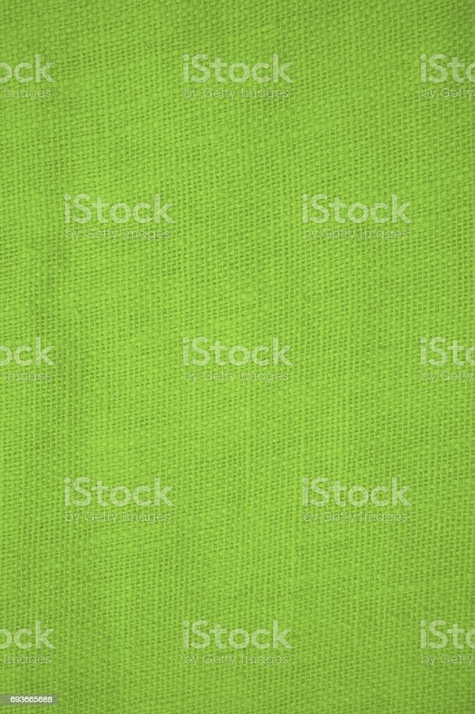 Traditional green cotton background stock photo