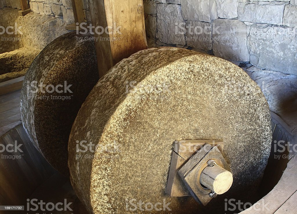 Traditional grinder stock photo