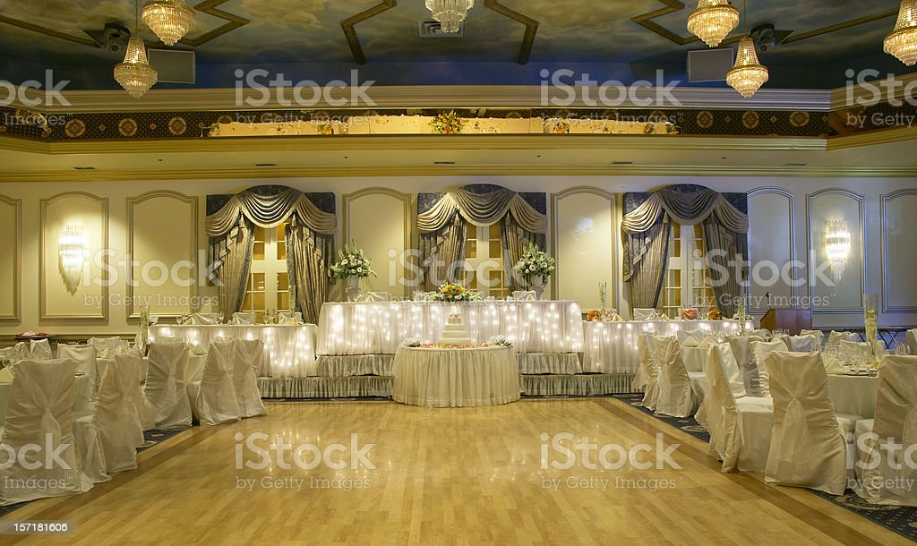 Traditional Hall stock photo