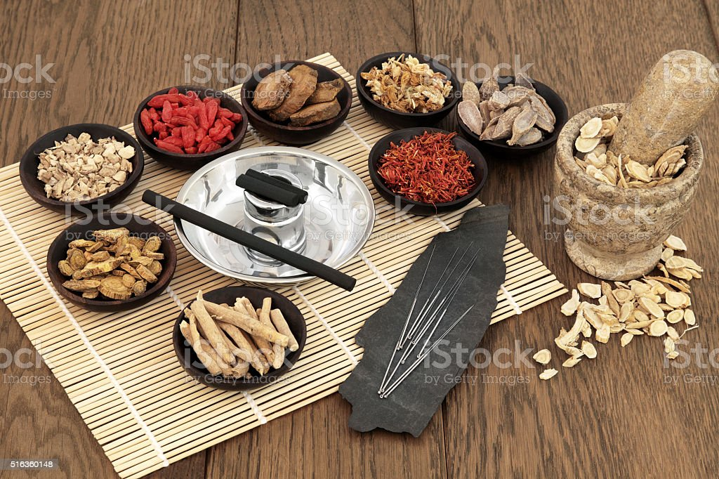 Traditional Healing stock photo