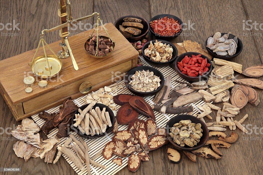 Traditional Herbal Medicine stock photo