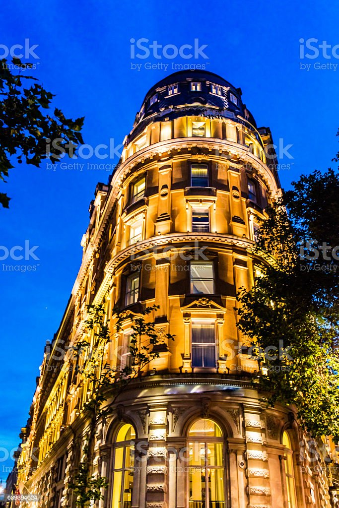 Traditional House in London stock photo