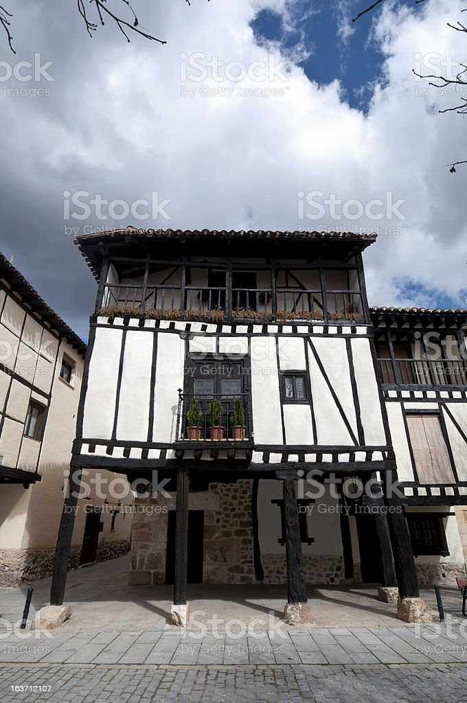 Traditional houses royalty-free stock photo