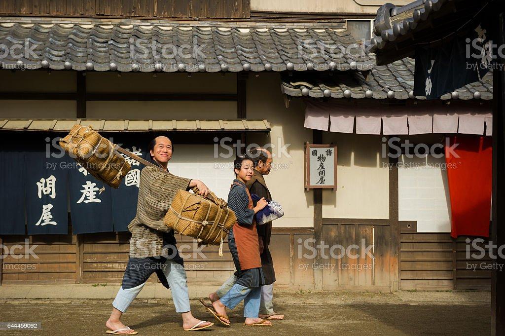 Traditional Japan stock photo