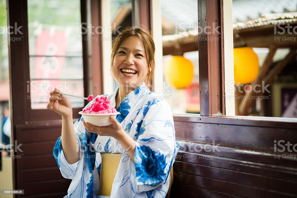 Traditional Japanese culture stock photo