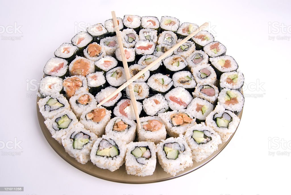 Traditional Japanese food royalty-free stock photo