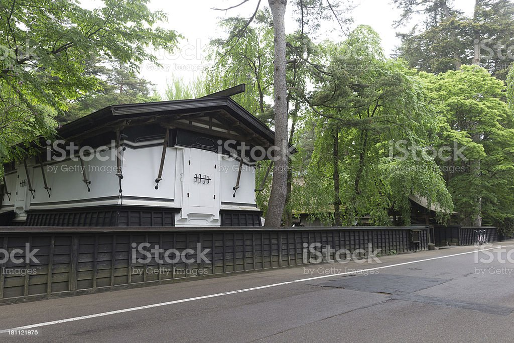 Traditional Japanese House royalty-free stock photo