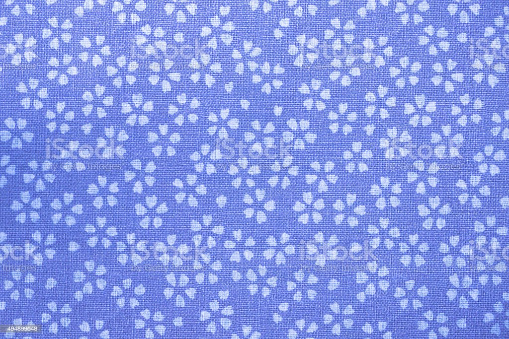 Traditional japanese pattern paper, flowers pattern stock photo