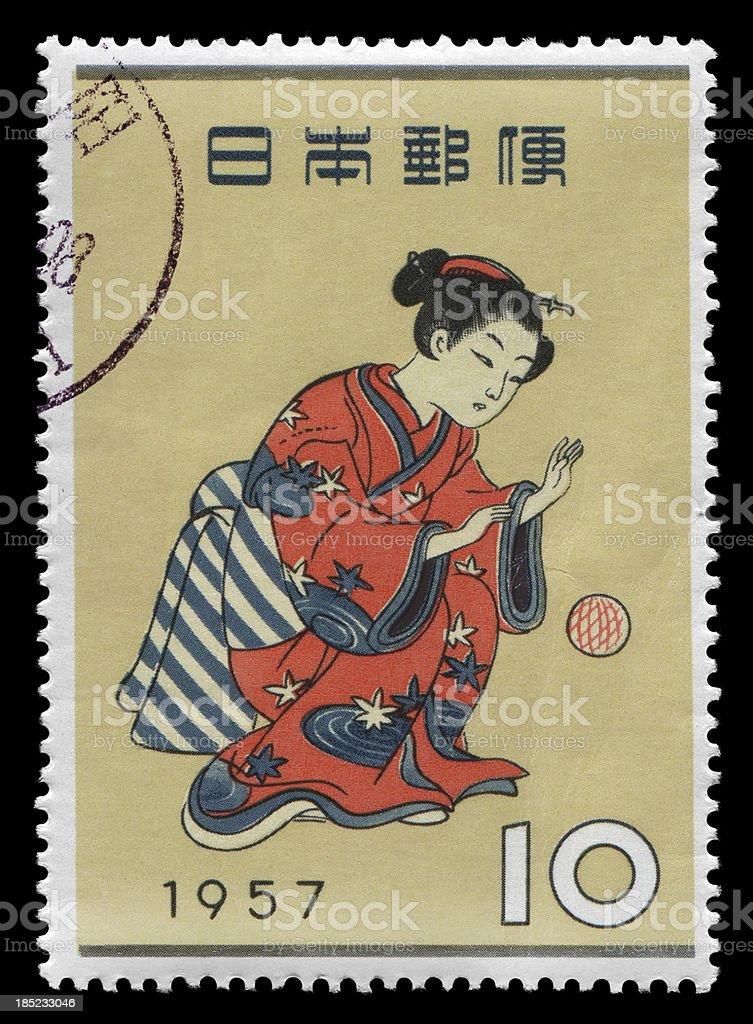 traditional Japanese (XXXLarge) royalty-free stock photo