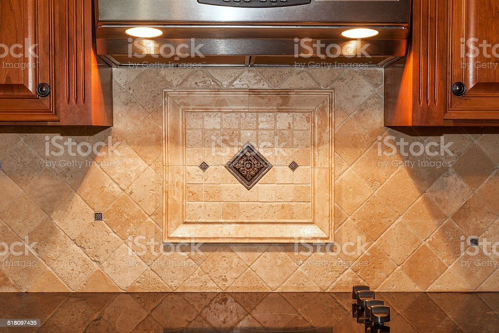 Traditional Kitchen stock photo