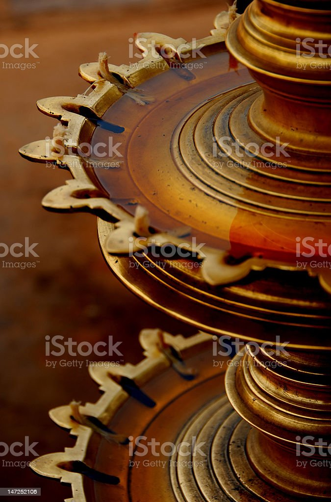 Traditional Lamp royalty-free stock photo