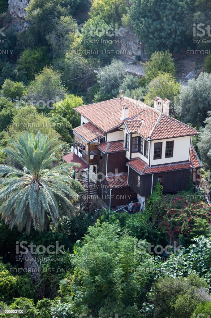 Traditional mansion in Osmanli Ottoman style stock photo