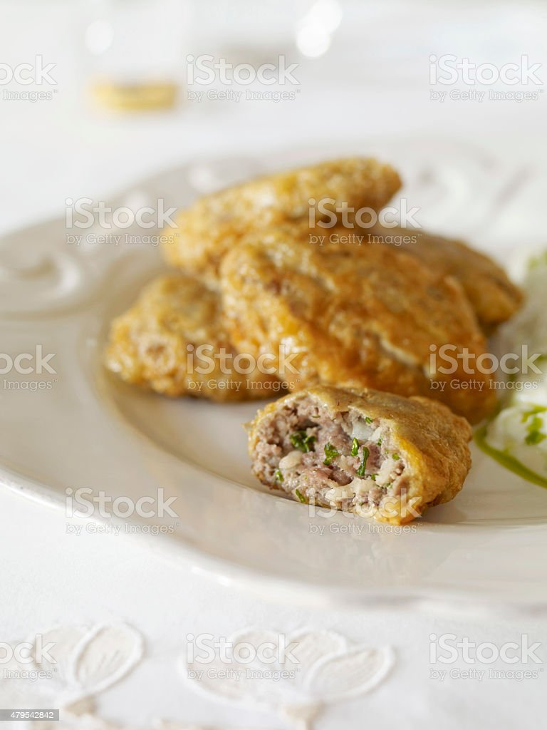 Traditional Meatballs stock photo