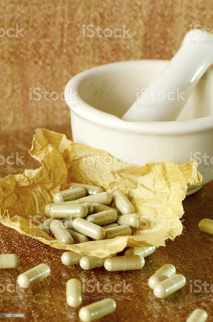 Traditional medicine. royalty-free stock photo