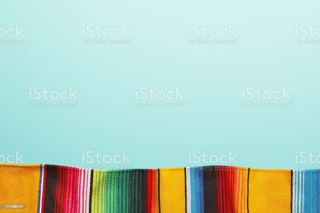 Traditional Mexican Blanket royalty-free stock photo