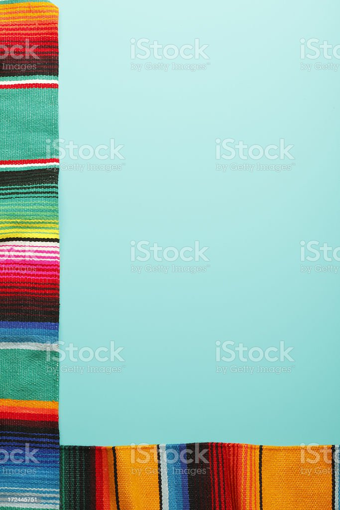 Traditional Mexican Blankets royalty-free stock photo