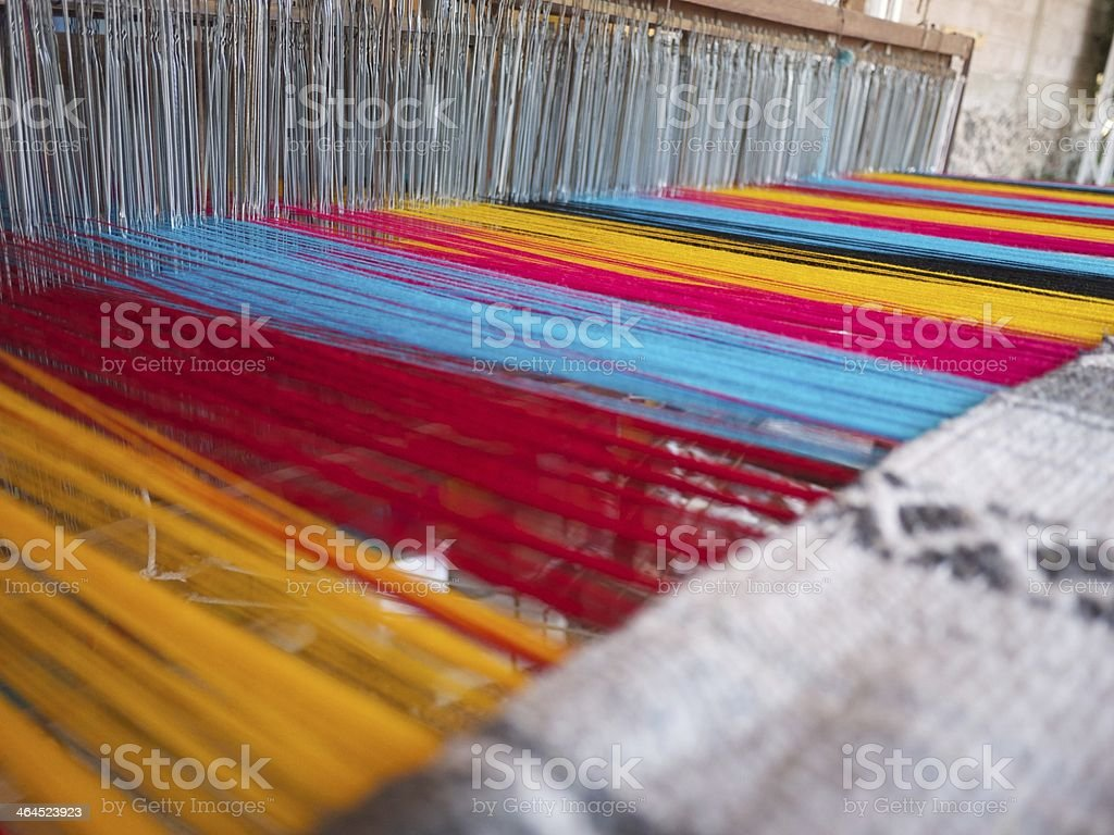 Traditional Mexican embroiding machine royalty-free stock photo