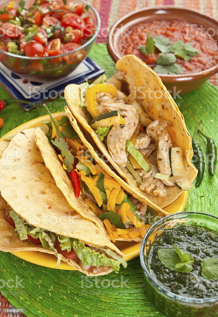 traditional mexican food royalty-free stock photo