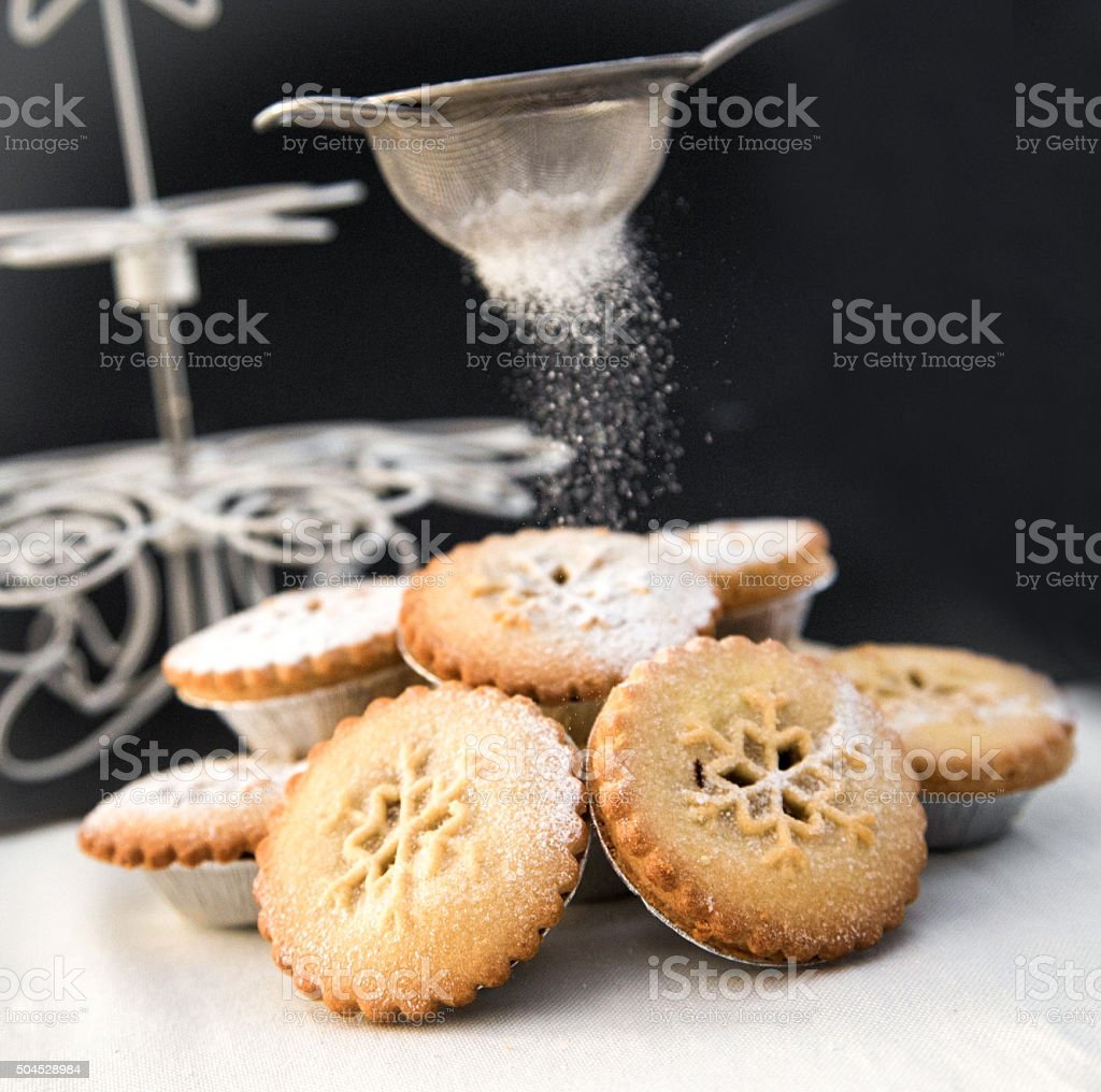 Traditional Mince Pies stock photo