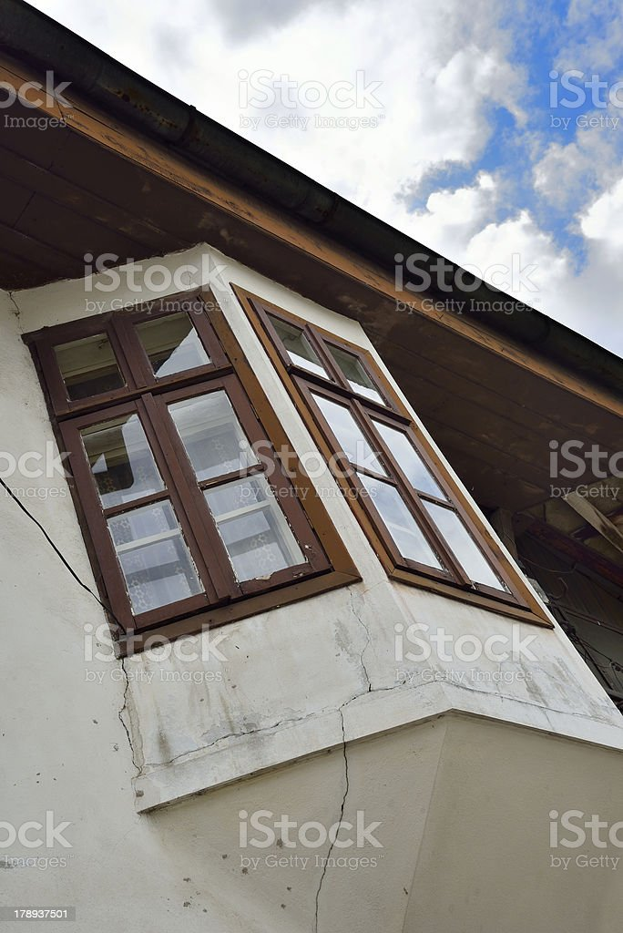 Traditional old Bulgarian house royalty-free stock photo