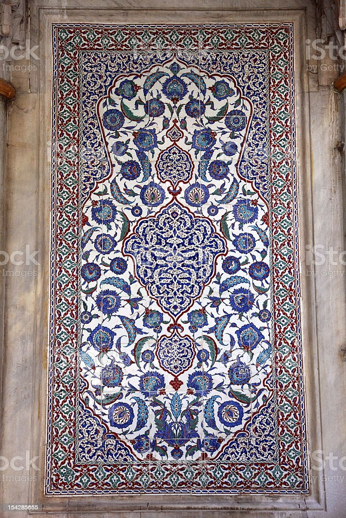 Traditional Oriental Art royalty-free stock photo