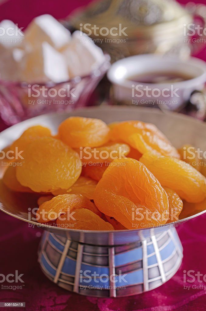 traditional Oriental feast stock photo