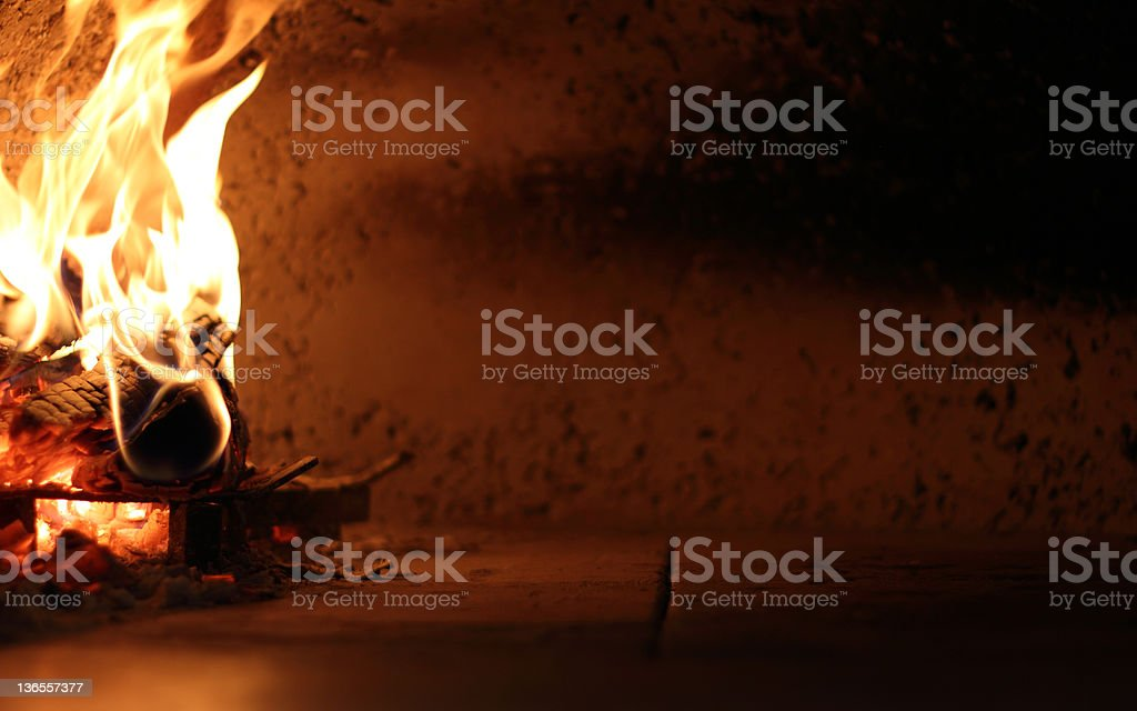 Traditional oven for pizza royalty-free stock photo