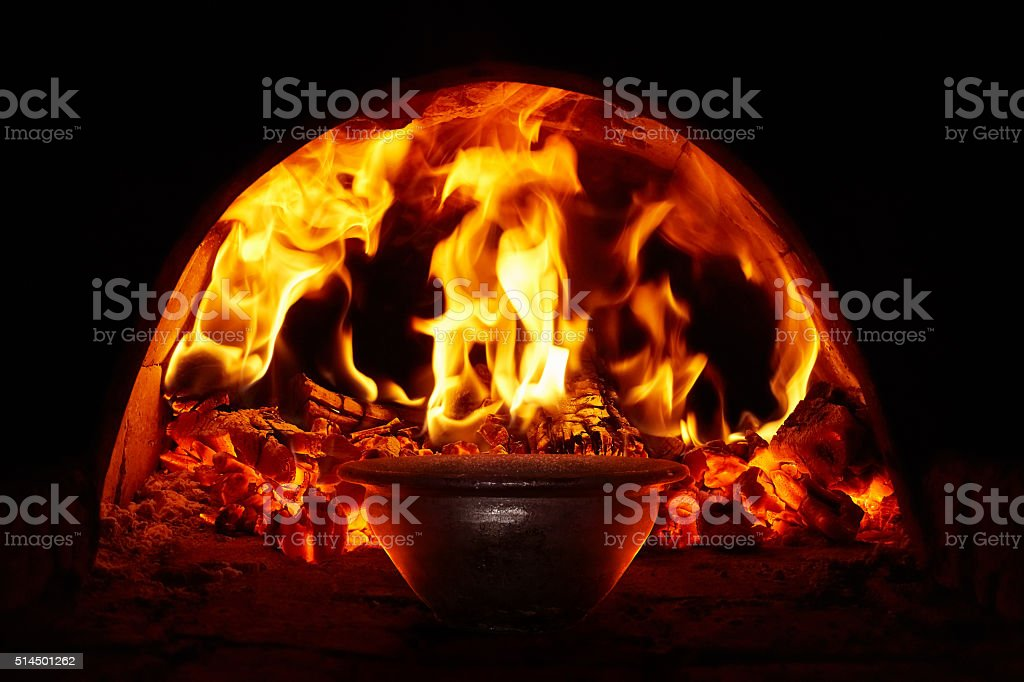 Traditional oven stock photo