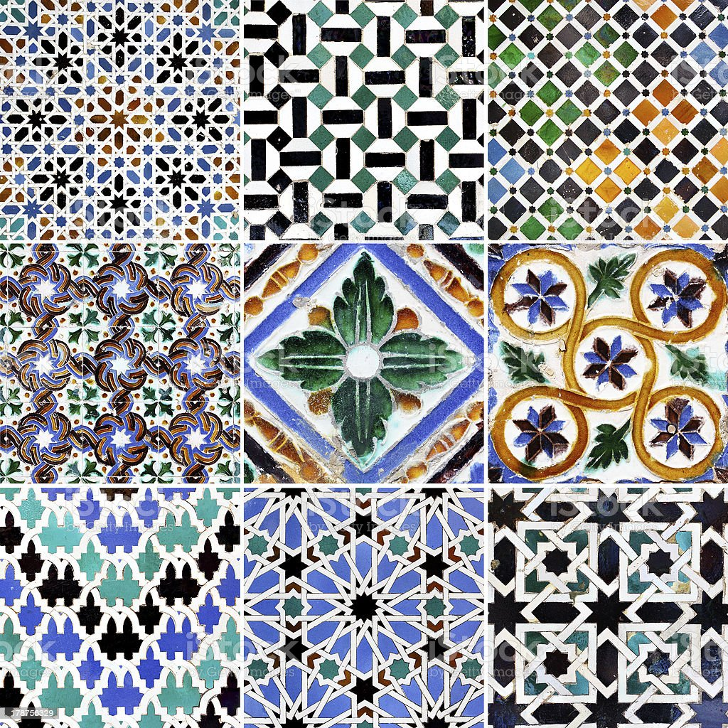 Traditional patterns royalty-free stock photo