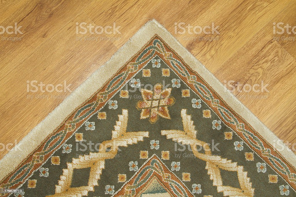 Traditional Persian Carpet royalty-free stock photo