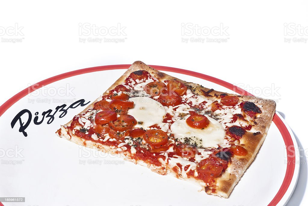 Traditional Pizza Margherita royalty-free stock photo