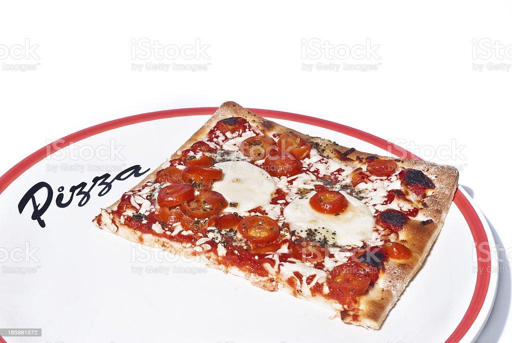 Traditional Pizza Margherita stock photo