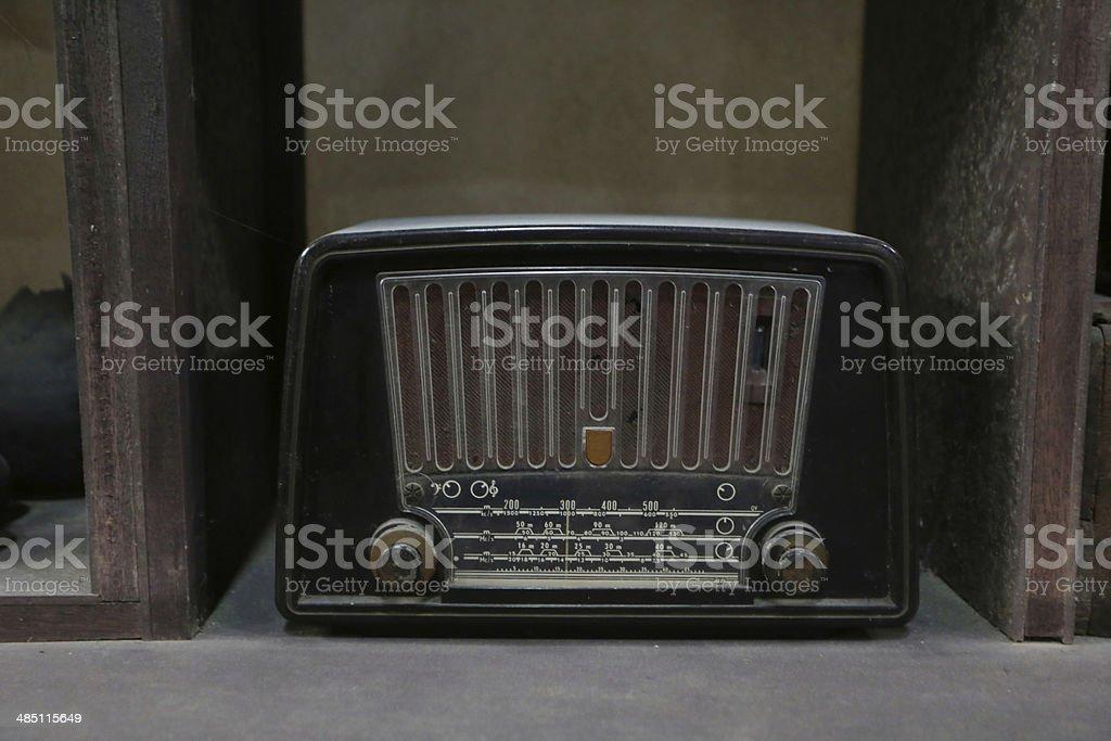 traditional radio stock photo