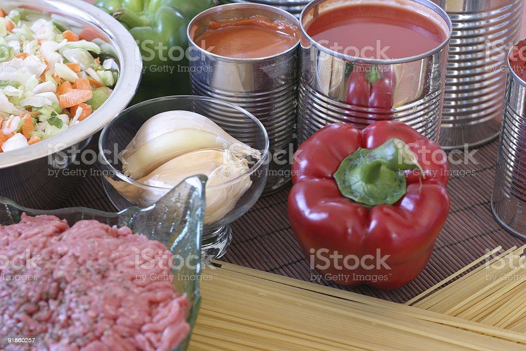 Traditional recipe royalty-free stock photo